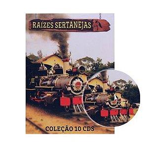 Coleção Raízes Sertanejas - 10 CDS