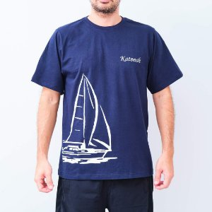 Camiseta -TRIPULAÇÃO- Azul Marinho