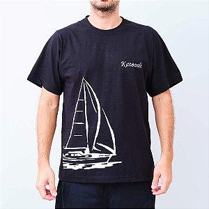 Camiseta -TRIPULAÇÃO- Preta
