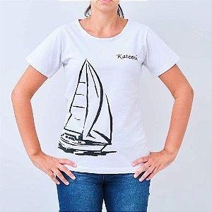 Camiseta -TRIPULAÇÃO- Branca e Preta