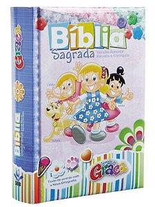 Bíblia Turminha da Graça - Rosa