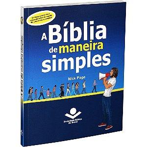 Livro A Bíblia de maneira simples -Nick Page