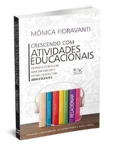 Livro Crescendo com atividades educacionais