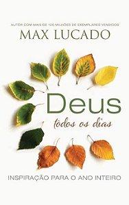 Livro Deus todos os dias - Max Lucado