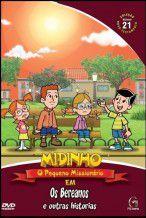 DVD Midinho  Os Bereanos e outras histórias - vol 21 NT