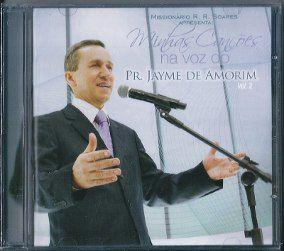 CD  Minhas Canções na Voz do Pr Jayme de Amorim-Vol.2