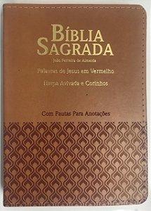 Bíblia grande com Harpa e Pauta para Anotações