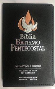 Bíblia Batismo Pentecostal com Harpa