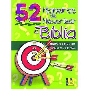 Livro 52 maneiras de memorizar a bíblia-Nancy S. williamson