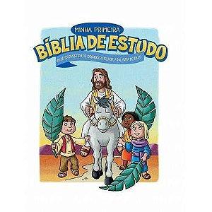 Livro Minha Primeira Bíblia de Estudo - Paul J. Loth
