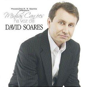 CD MINHAS CANCÕES NA VOZ DE DAVID SOARES Vol.1