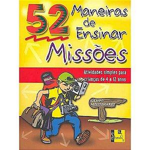 Livro 52 ?Maneiras de ensinar Missões