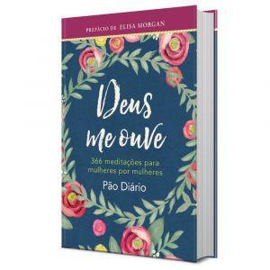 Livro Deus me ouve-Meditações para mulheres por mulheres-Elisa Morgan