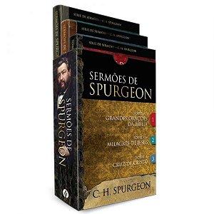 Box - Sermões de Spurgeon: 3 livros do príncipe dos pregadores (Português)