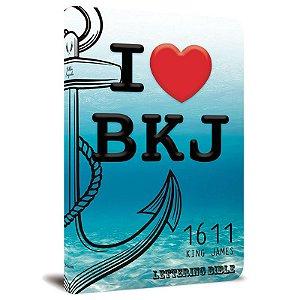 Bíblia BKJ 1611 Ultra Fina - Lettering Bible (I Love BKJ)