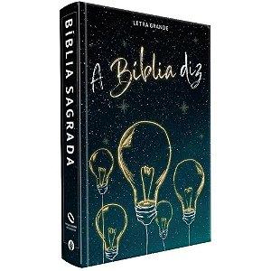 Bíblia Diz Letra Grande Capa Dura Nova Almeida Atualizada
