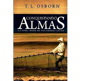 Kit com 30 Livros  Conquistando Almas Lá Fora - T. L. Osborn