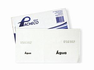 IMPRESSO FICHA DE BAR AGUA 50 FLS R.262 || PCT-C/20