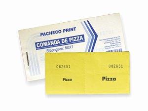 IMPRESSO FICHA DE BAR PIZZA 50 FLS R.270 || PCT-C/20