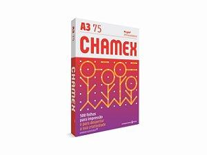 PAPEL CHAMEX A3 MULTI 75GRS 500FLS || PCT UNID