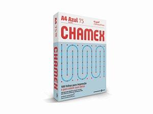 PAPEL CHAMEX A4 COLORS 75GRS 500FLS AZUL || PCT UNID