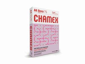 PAPEL CHAMEX A4 COLORS 75GRS 500FLS ROSA || PCT UNID