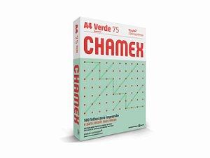 PAPEL CHAMEX A4 COLORS 75GRS 500FLS VERDE || PCT UNID