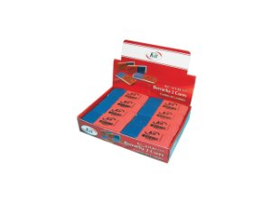 BORRACHA KIT 2 CORES REF.RE-517 || CAIXA C/24