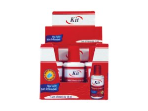 CORRETIVO LIQUIDO KIT 18ML || CAIXA C/6