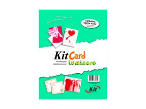 PAPEL KIT CARDS LUMINOSO A4 C/25FLS REF.SH-2A4 || PCT UNID