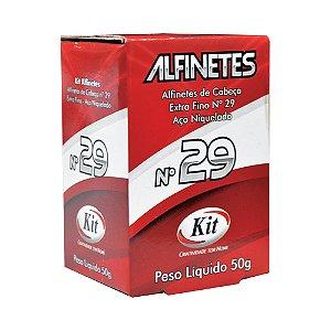ALFINETE KIT CABECA 50GRS N.29 || CAIXA UNID