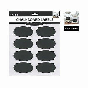 ETIQUETA CHALKBOARD C/8 R.21552-06 || IND UNID