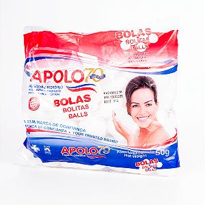 ALGODAO BOLINHA APOLO 50GRS || PCT UNID