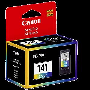 CARTUCHO CANON CL-141 COLORIDO || CAIXA UNID