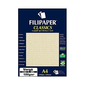 PAPEL FILIPAPER VERGE 180GRS CREME R.981 || PCT C/50