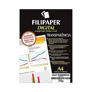 TRANSPARENCIA INK-JET  A4 50FLS C/TARJA 2603 || PCT C/50