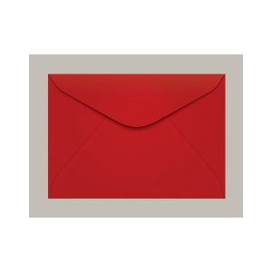 ENVELOPE COLOR PLUS 114X162 CCP430.17 VERMELH TOQUIO || PCT C/100