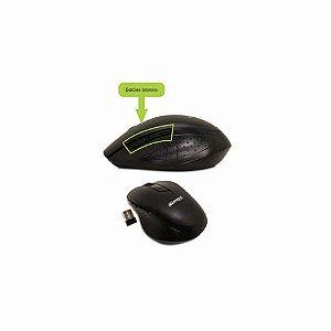 MOUSE OPTICO S/FIO C/ 5BOTOES USB R.6012254 PRETO || UNIDADE