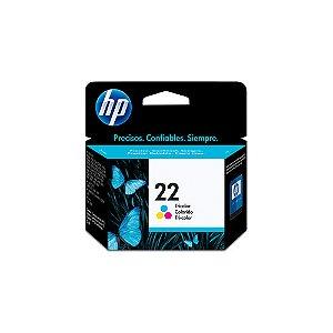 CARTUCHO HP C9352AB#22 6ML PSC 1410 DJ 3910 COLORIDO || UNIDADE