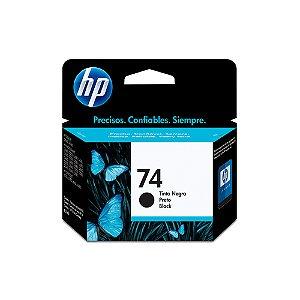 CARTUCHO HP CB335WB#74 5,5ML J5780 C4280 PRETO || UNIDADE