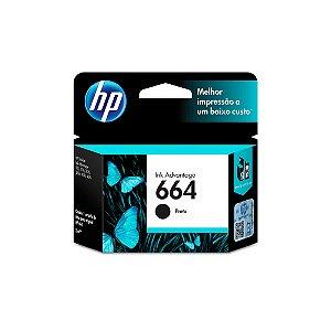 CARTUCHO HP F6V29AB#664 HP 1115 PRETO || UNIDADE