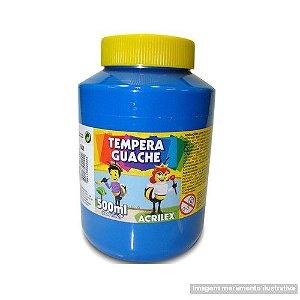 TEMPERA GUACHE 02050 500 ML 501 AZUL TURQUESA || IND UNID