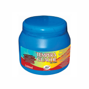 TEMPERA GUACHE 500 ML KIT AZUL || IND UNID