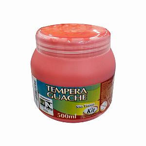 TEMPERA GUACHE 500 ML KIT VERMELHO || IND UNID