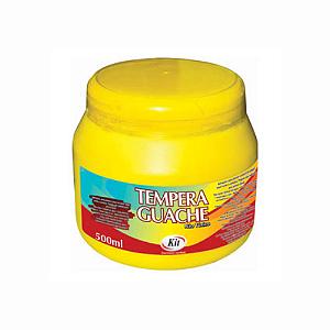 TEMPERA GUACHE 500 ML KIT AMARELO || IND UNID