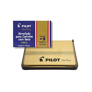 ALMOFADA P/CARIMBO N-3 PILOT PRETO || IND UNID