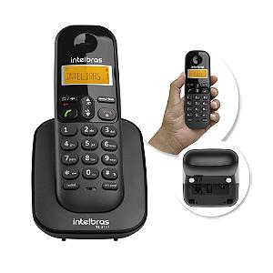 APARELHO TELEFONICO S/ FIO RAMAL TS3111 PRETO || UNIDADE