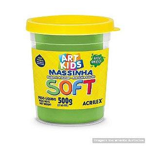 MASSA P/MODELAR SOFT 500GR 101 VERDE