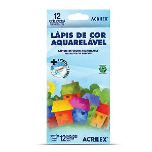 LAPIS DE COR AQUARELAVEL 12 CORES R.9652