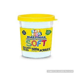 MASSA P/MODELAR SOFT 500GR 418 BRANCO